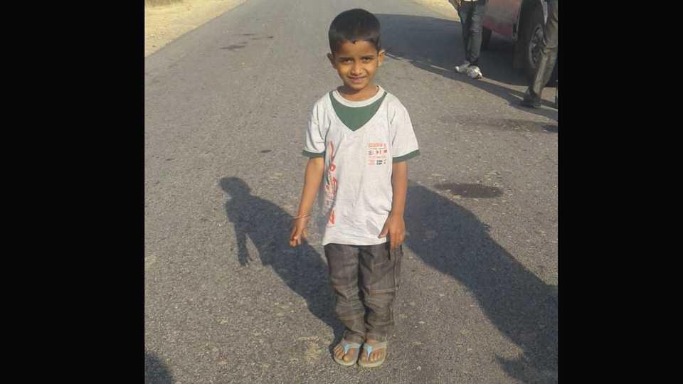 Boy Missing body found in Gobargas pothole