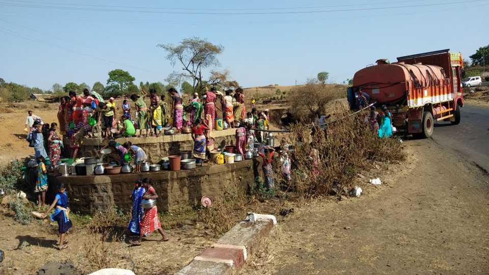 Tribal struggle for Water in Kundachapada in Jawhar