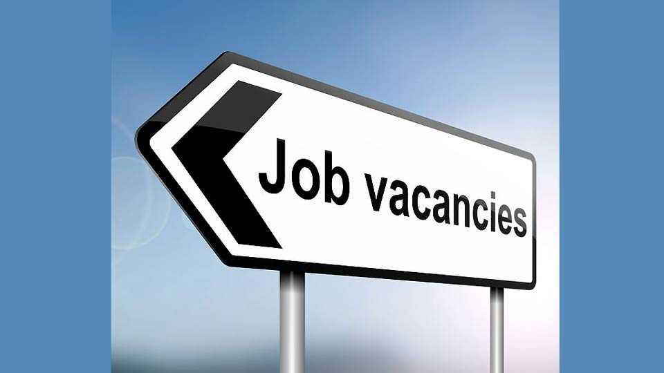 Agriculture department vacancies