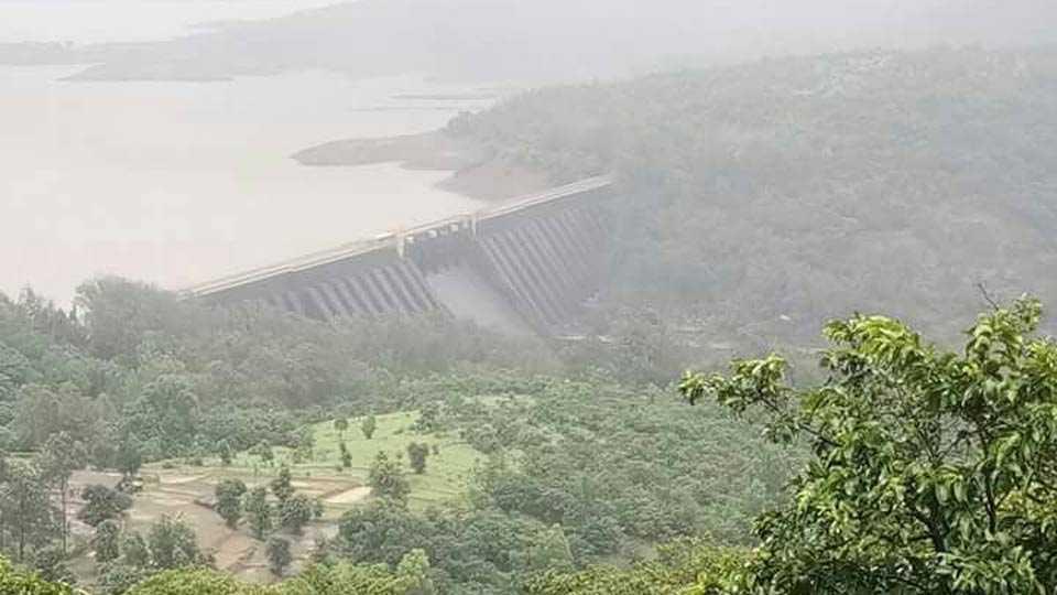 Koyana Dam on 27th July 2017