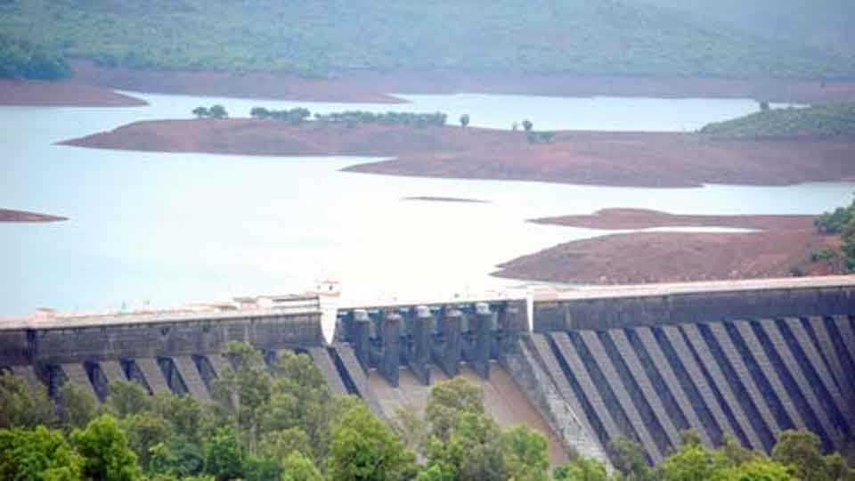 Koyana-Dam water