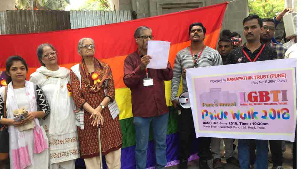 LGBT communitys long march in pune