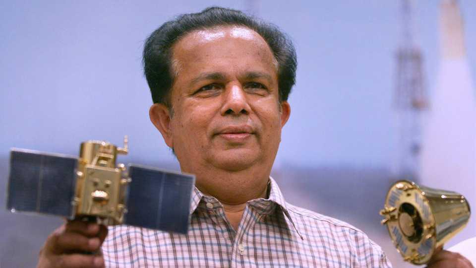 File photo of G Madhavan Nair