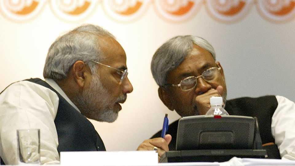 Narendra Modi Nitish Kumar
