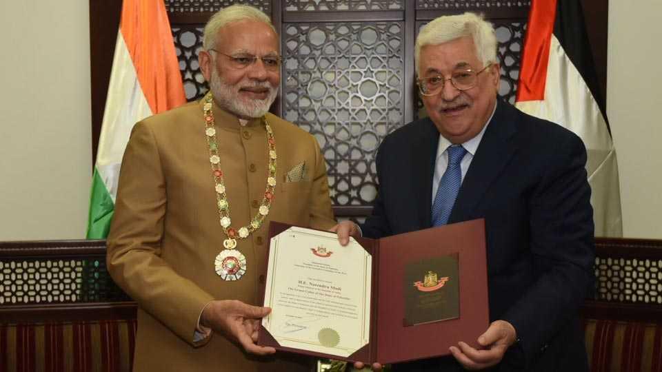 Modi-Palestine