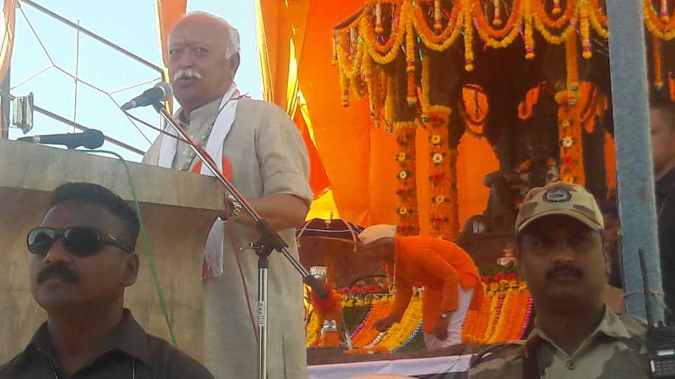 RSS Chief Mohan Bhagwat says good thoughts about Shivaji Maharaj