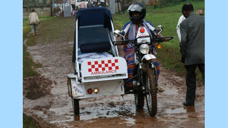 Motor-Bike-Ambulance