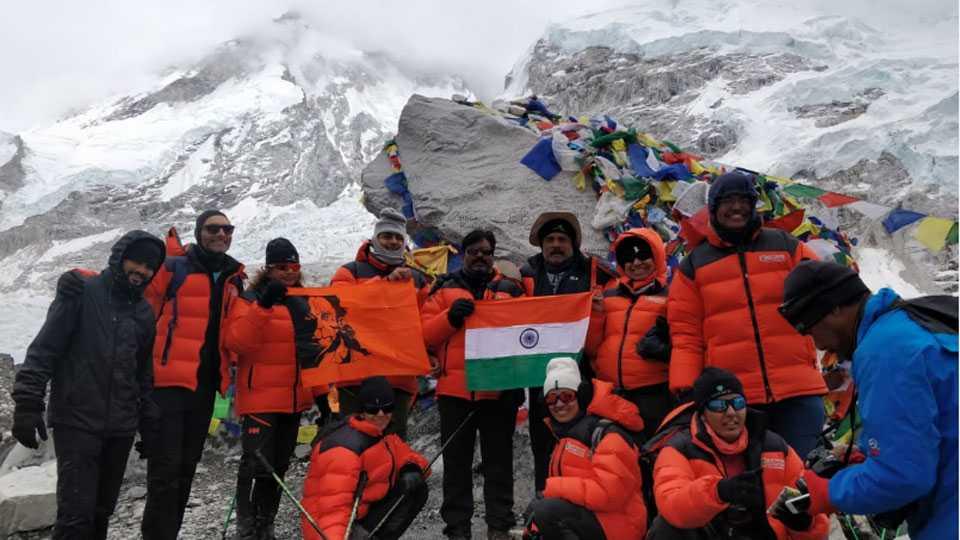 Everest Base Camp reached only in eight days