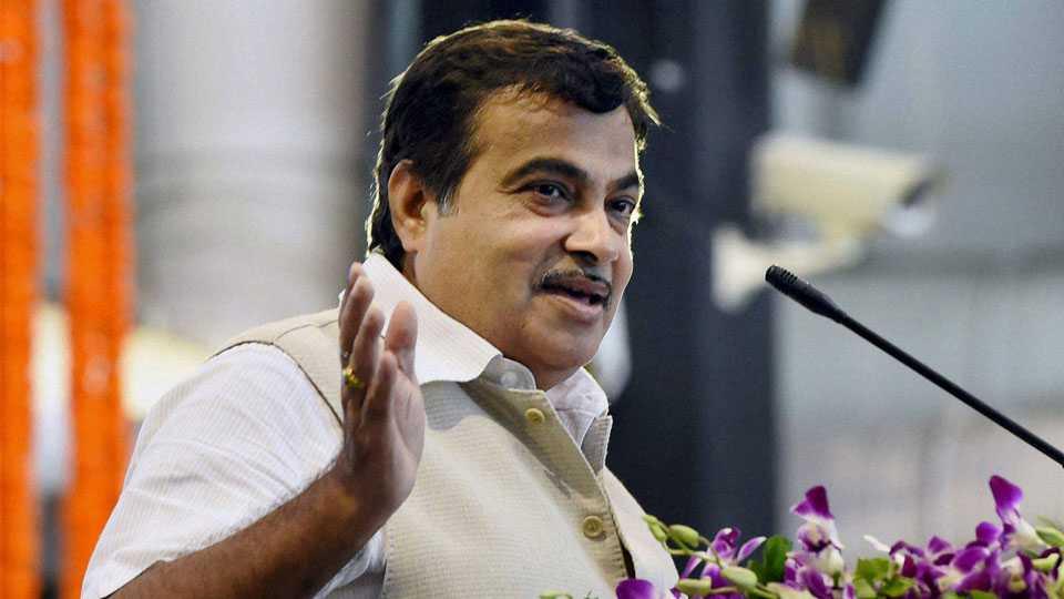 File photo of Nitin Gadkari
