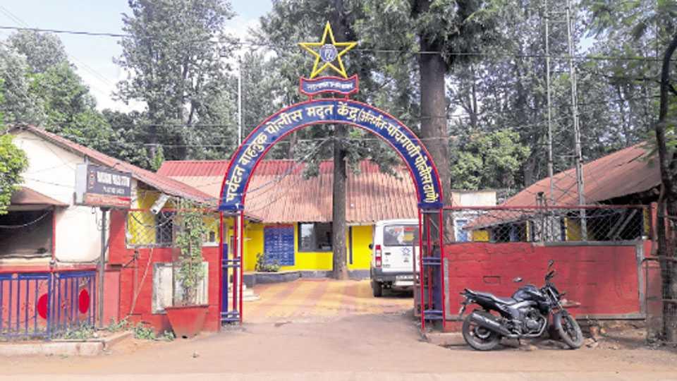 पाचगणी - पाचगणी पर्यटन पोलिस केंद्राची इमारत अशा प्रकारे नुसत्या नावानेच कार्यरत आहे.