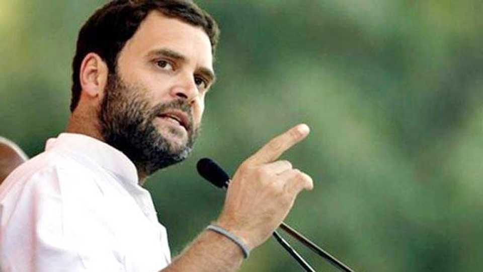 PM Modi only says his Mann Ki Baat says Rahul Gandhi