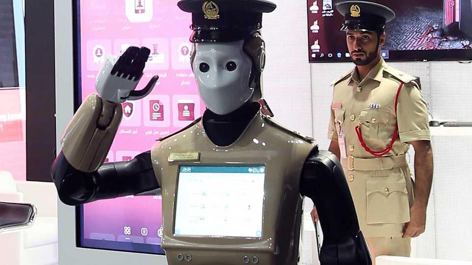 Robocop officer joins Dubai police