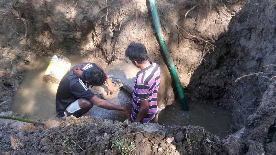 Marathi News_Rasayani_Thane_MIDC_The repair work is done immediately.