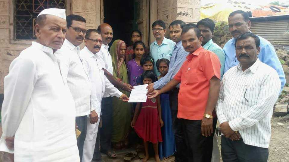Sanjay Gandhi Niradhar Yojna Certificate of Home