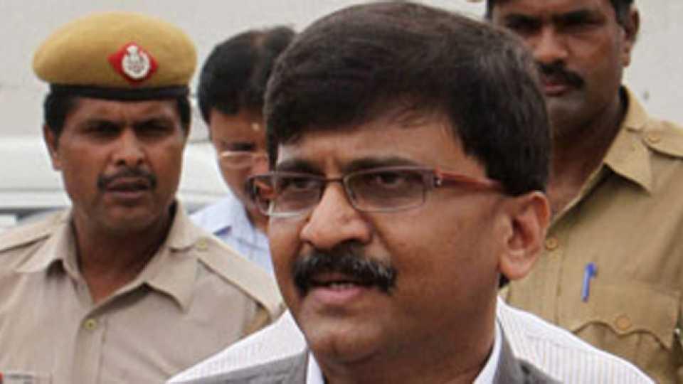 File photo of Sanjay Raut