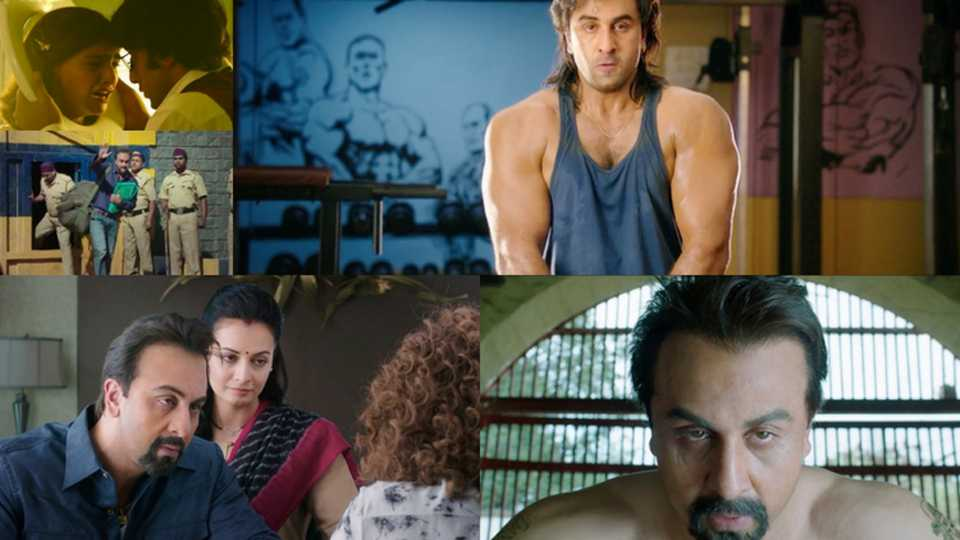 Sanju movie trailer out