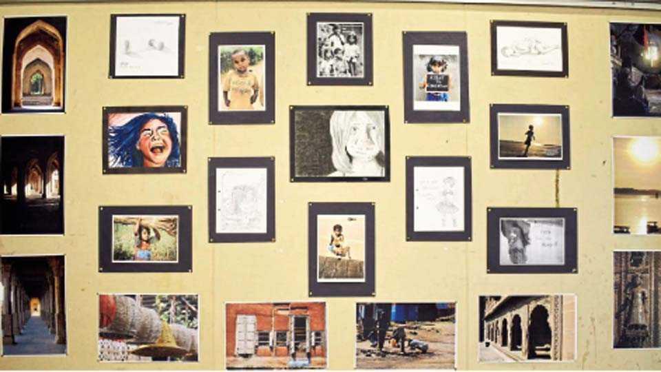 बालगंधर्व कलादालन - सारा फाउंडेशनने आयोजिलेल्या प्रदर्शनातील छायाचित्रे.