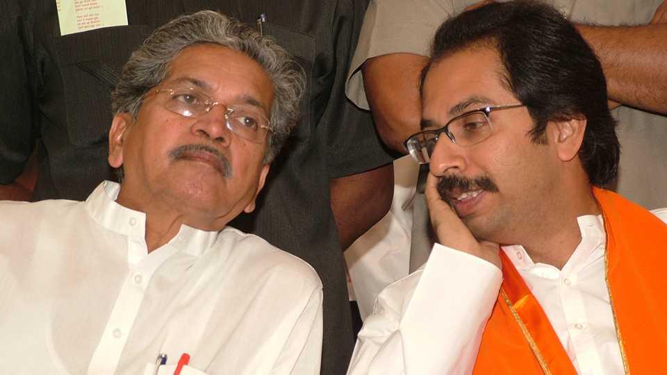 File photo of Subhash Desai and Uddhav Thackray