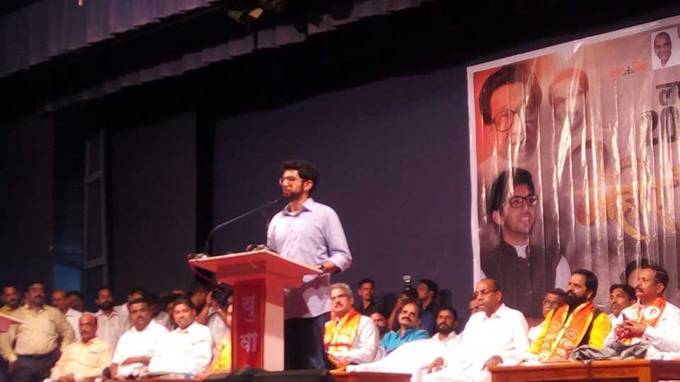 Graduate election for monopoly power is important - Aditya Thackeray
