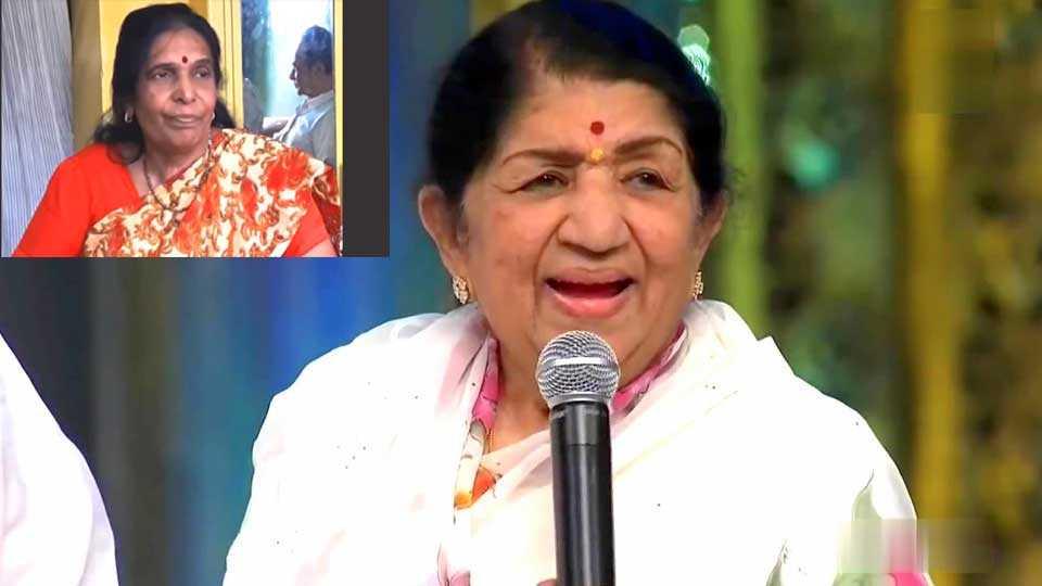 lata mangeshkar award goes to pushpa pagdhare  esakal news
