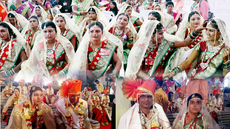Aurangabad : Blind -Handicapped new couples enjoying their relationship