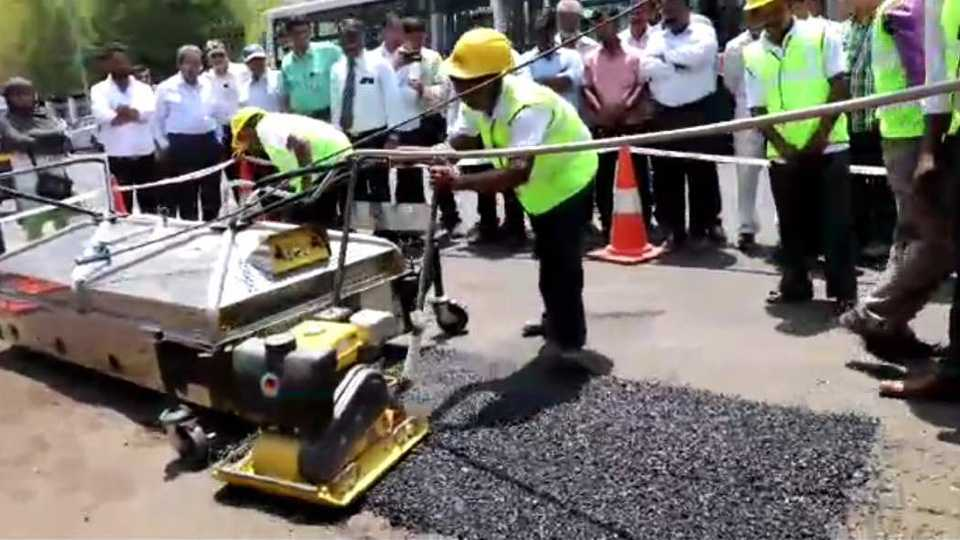 New machine for Road patch work