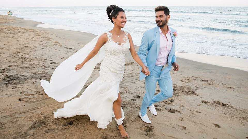 marathi news rochelle rao Keith Sequeira wedding outfit actor tv drama