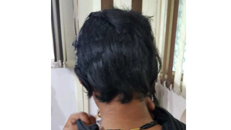 husband cuts wife's hair over excess salt in food