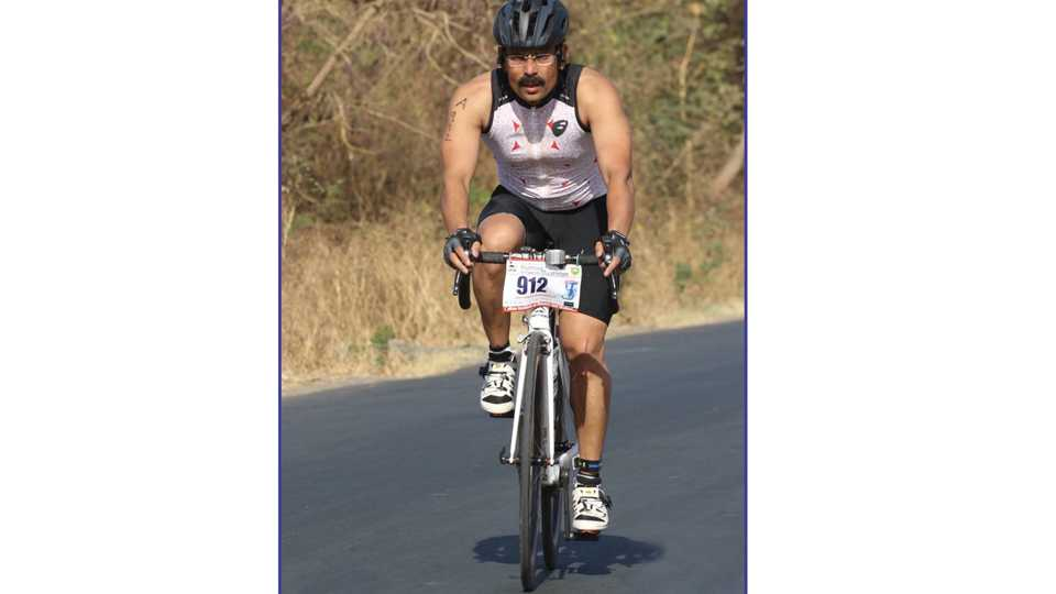 guy from baramati prepares for iron man global competition