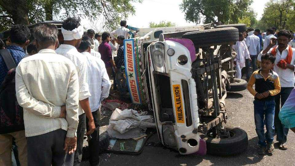 Buldhana: Two persons killed in accident on Motala-Nandura road