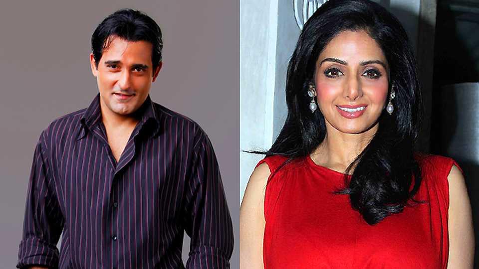 Sridevi and Akshaye Khanna in MOM movie