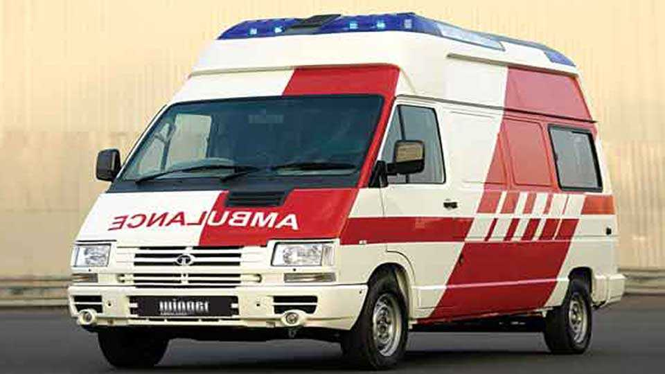 marathi news sakal news president ambulance