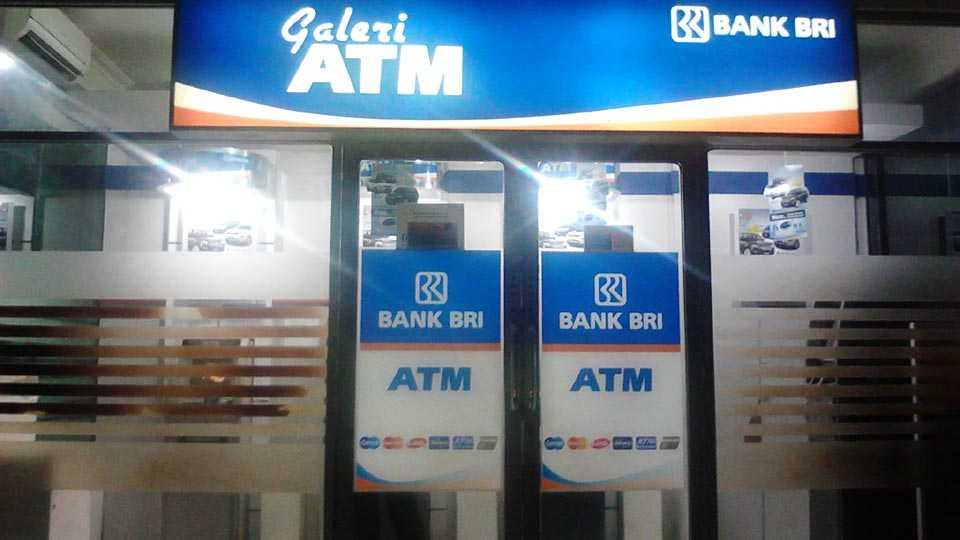 atm machine in indonesia