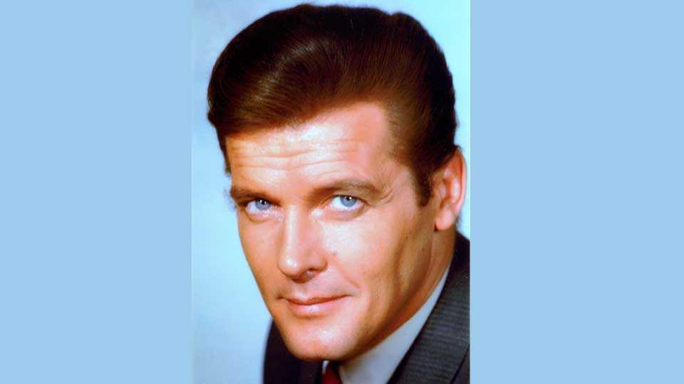 roger moore and james bond