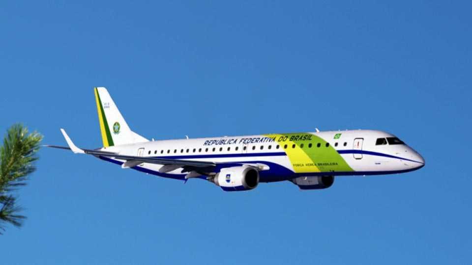 Brazil aeroplane