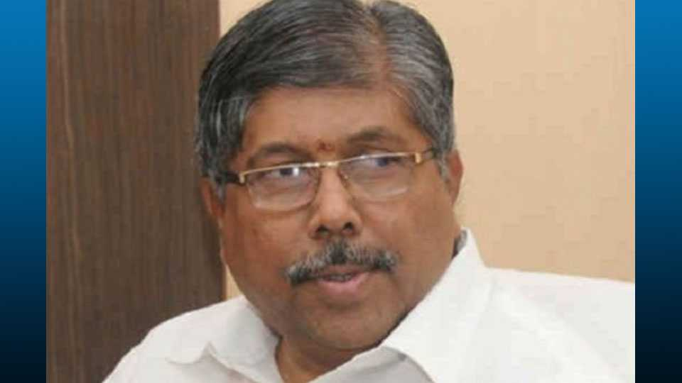 BJP first list on July 4 says Chandrakant Patil
