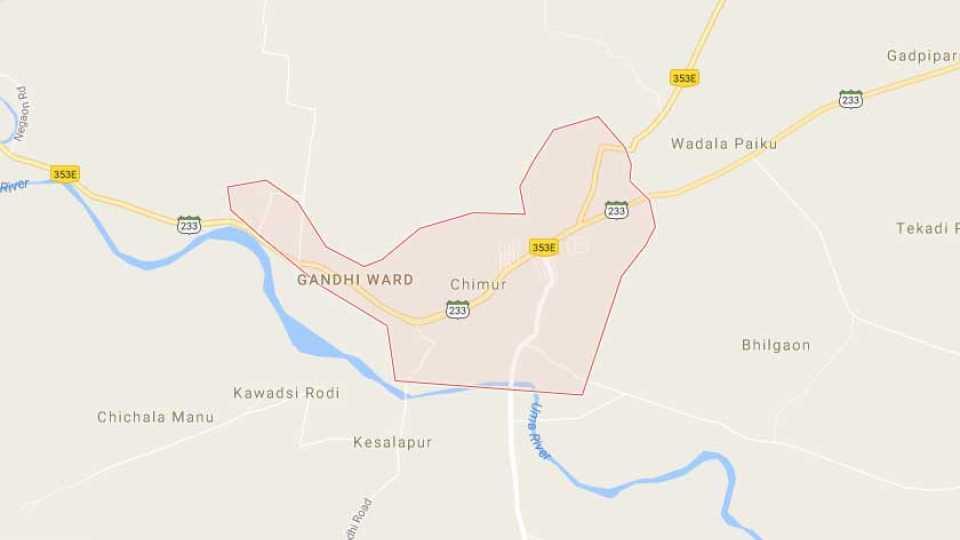 chandrapur news marathi news sakal news fast agiation