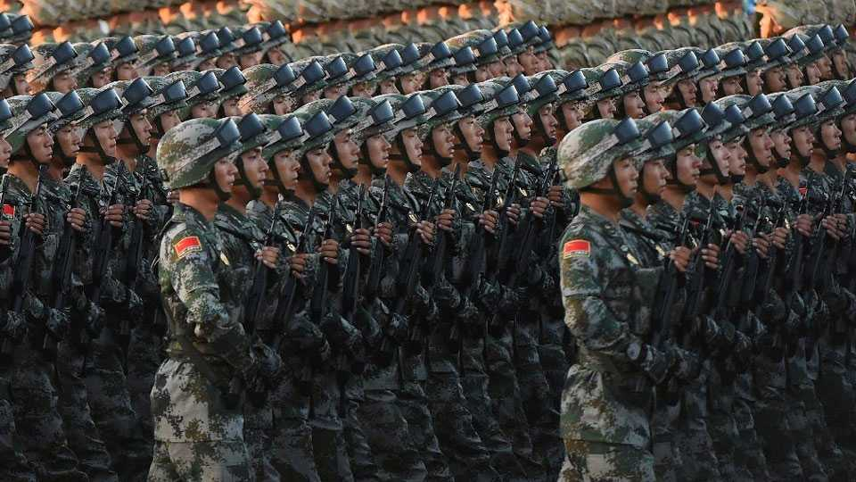 China defense budget rises at slowest pace in decades