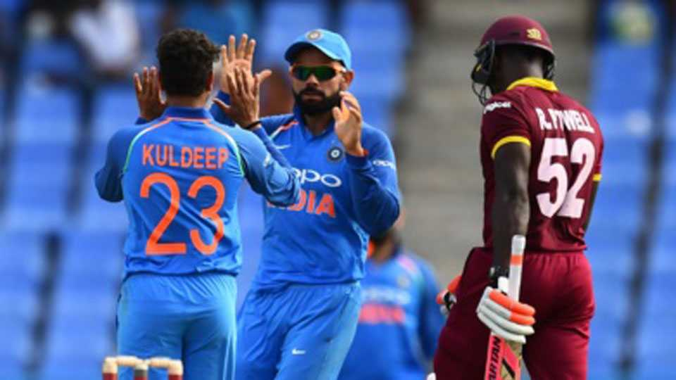 India beat hapless West Indies by 93 runs, take 2-0 lead in series