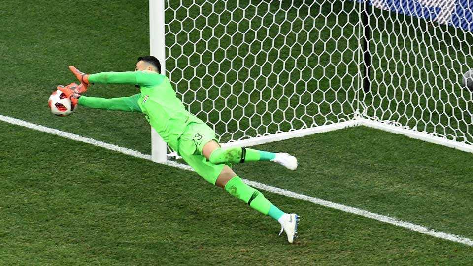 Croatias goalkeeper Danijel Subasic