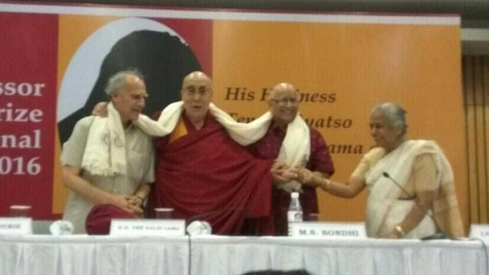 Vijay Naik writes about Tibetan spiritual leader Dalai Lama