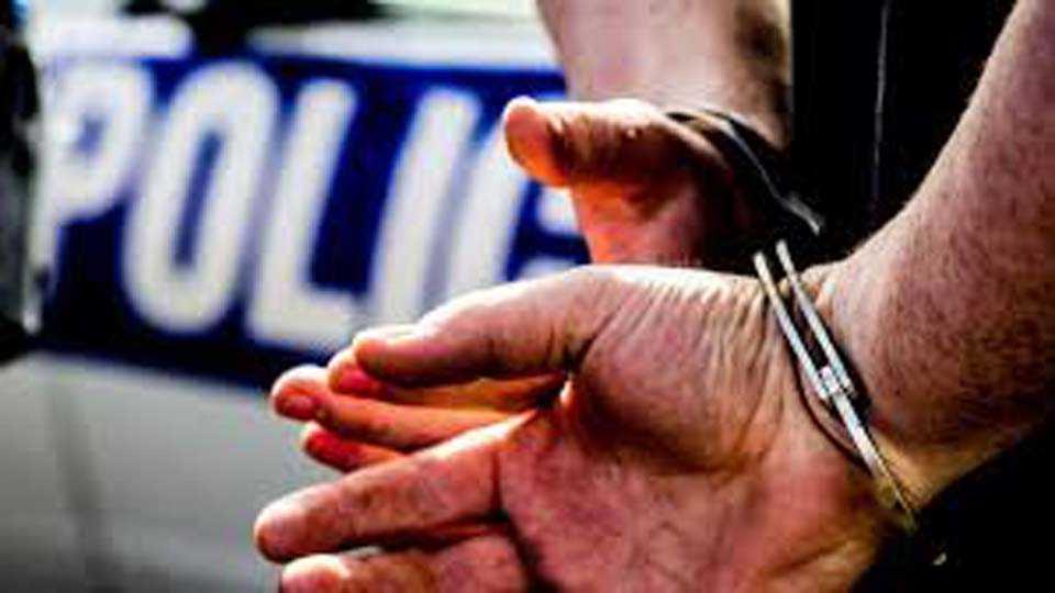 police action_arrest