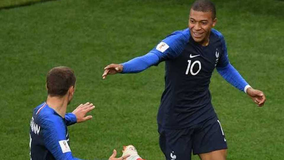 France qualified for knockout