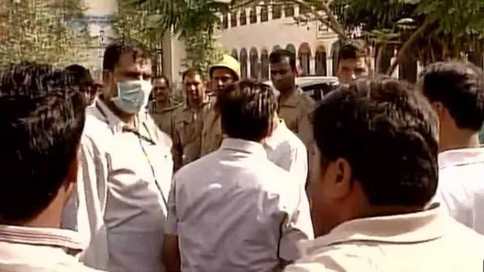 Delhi: Gas leak at Tughlakabad, over 105 students rushed to hospital