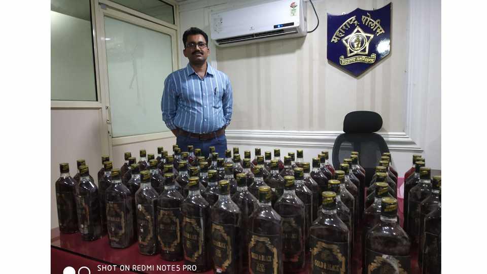 The liquor of Goa was sold in Aurangabad