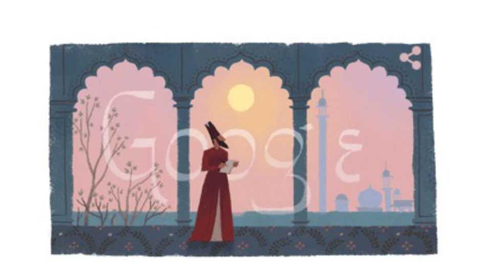 Marathi News Poet Shayari Gazals Mirza Galib 220 Birthday Google Tribute