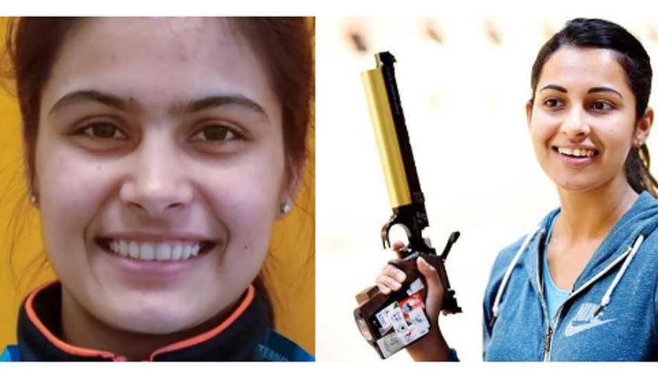Manu Bhaker, Heena Siddhu
