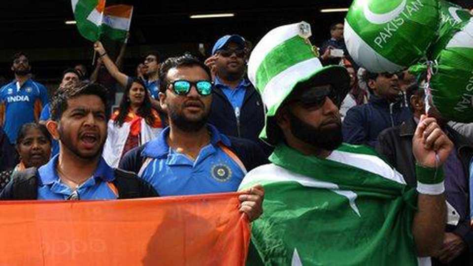 India, Pakistan fans