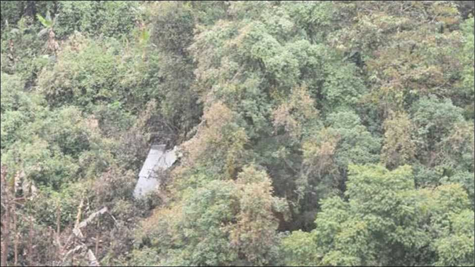 Wreckage of missing Sukhoi found near forest