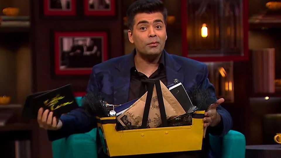 What's In a Hamper? Karan Johar Finally Reveals on KWK'